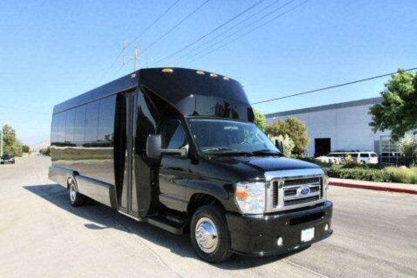 Medium Black Party Bus Dallas